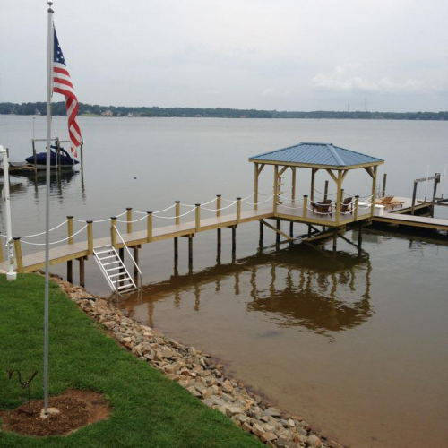 Custom Boat Docks